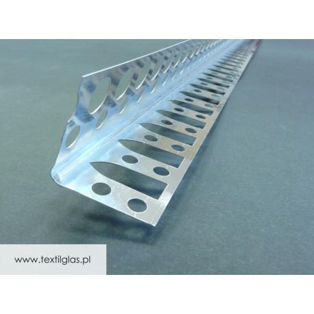 Kątownik aluminiowy, perforowany do łuków NGŁ ALU