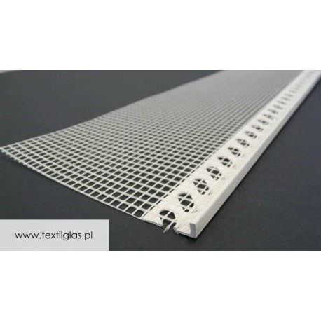 Listwa zakończeniowa do tynku Grubość tynku 3mm lub 6mm - LZ 2/S
