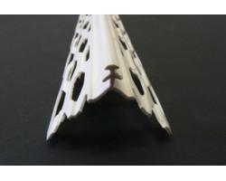 Narożnik stalowy ocynkowany z grzbietem PCV NTM/PCV